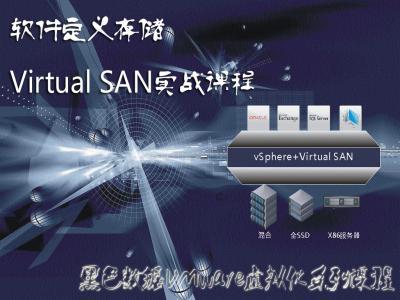 [黑色数据虚拟化系列]VMware VSAN 6.0实战视频课程视频
