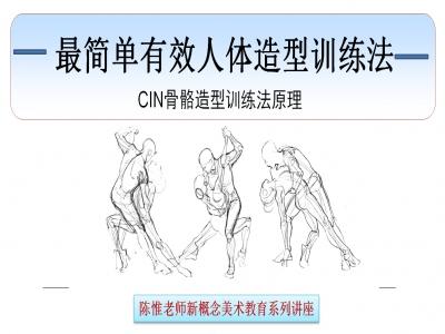 最简单有效人体造型训练法视频教程