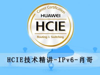 华为HCIE高级自学视频课程之IPv6[肖哥]