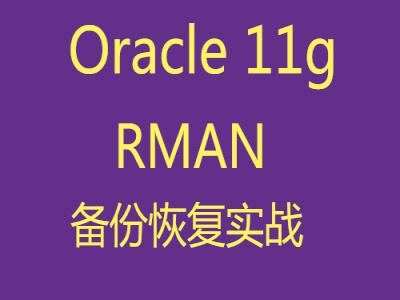 Oracle11g-RMAN备份与恢复基础到进阶视频教程